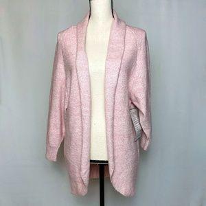 BP Cocoon Cardigan Weekend Pink Sweater NWOT